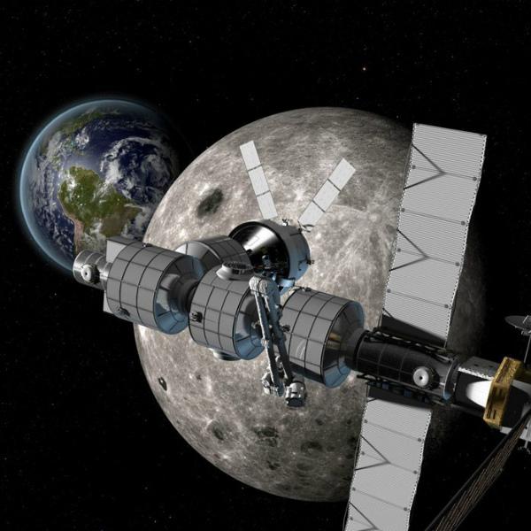 Создание Международной окололунной станции