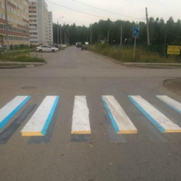 3D пешеходный переход