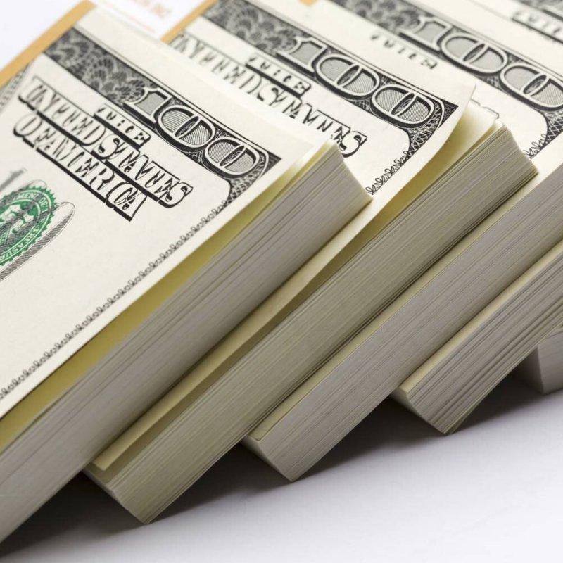 Деньги в мусорку