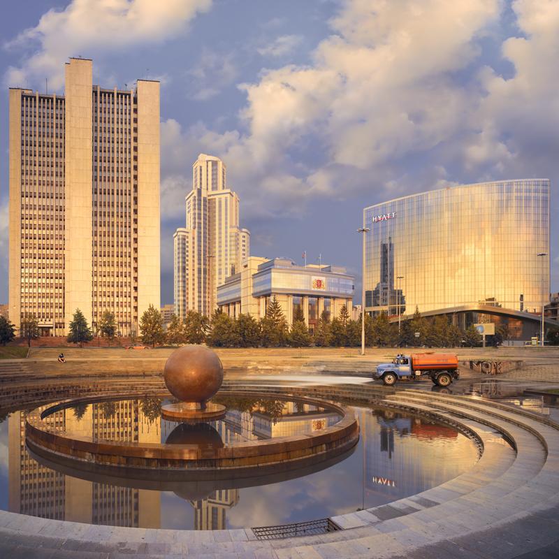 Екатеринбург на открытке