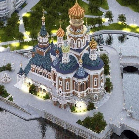 В Екатеринбурге не утихают споры по поводу Храма-на-воде