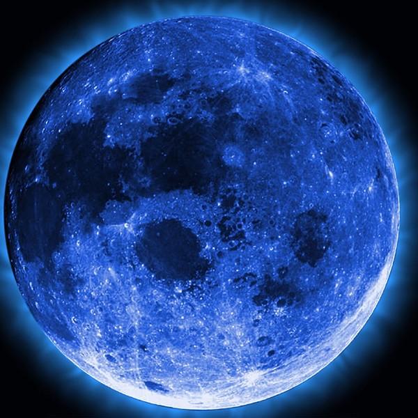 Голубая луна, голубая