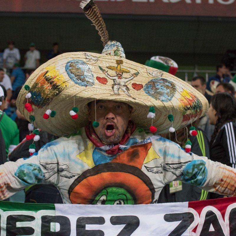 Мексиканский болельщик