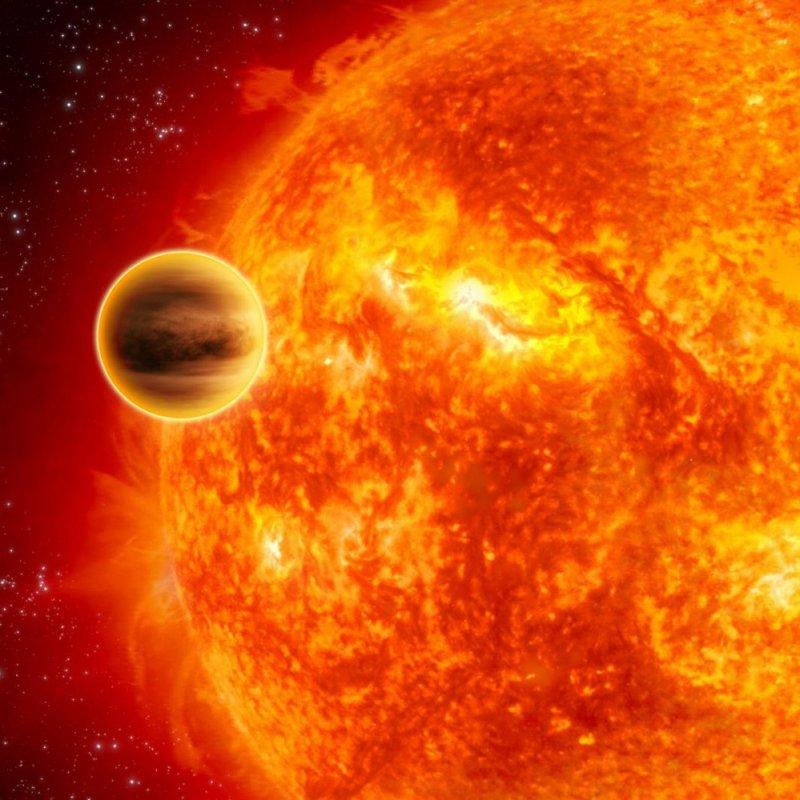 Самая горячая планета