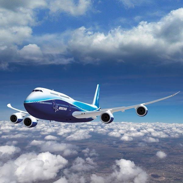 Улетает самолет