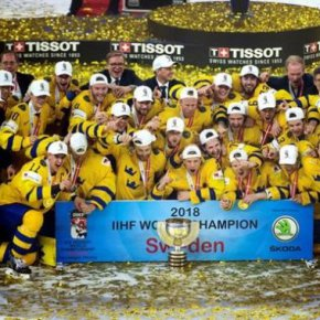 Сборная Швеции стала чемпионом мира по хоккею