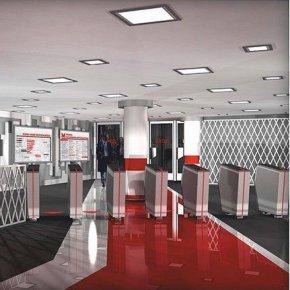 Дизайн новой станции метро
