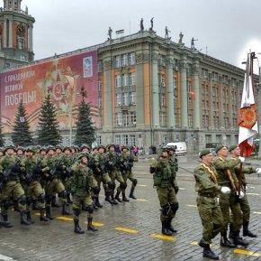 Начались репетиции парада Победы