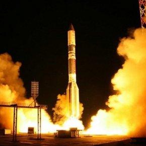 Испытания первой в России многоразовой ракеты