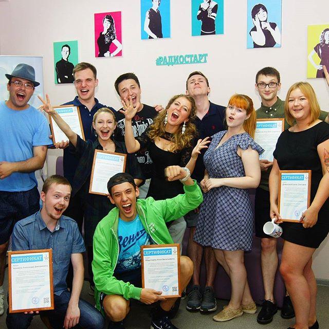 Друзья, все так стремительно) Набираем группу уже на 25 сентября. А на фото - наши летние выпускники - любимый Радиостарт-7 ...