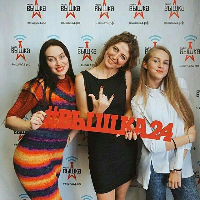 Спасибо нашим гостям за настроение!!!) @anna21andrayn и Алена Андрея рассказали о предстоящей премии Top Music)