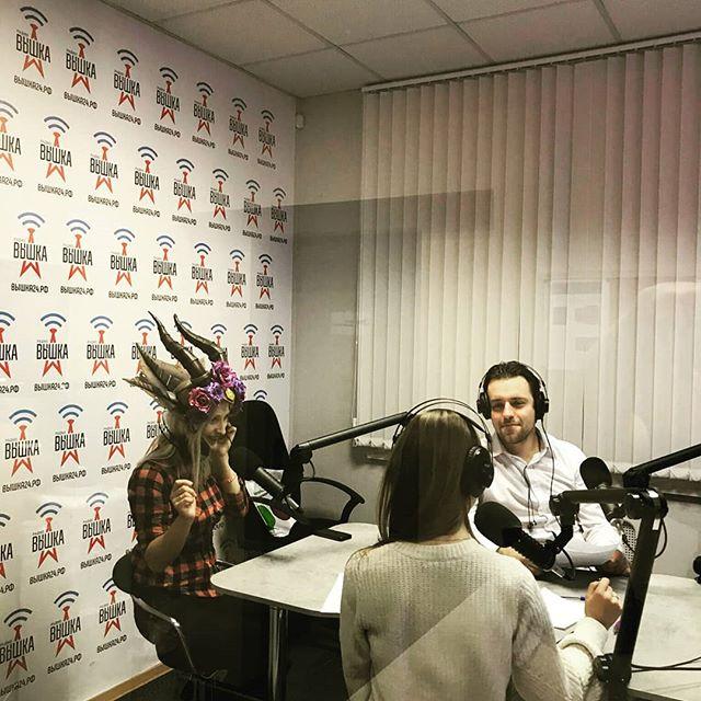 В наших эфирах творится настоящее волшебство????! Вот что происходит в студии в Санкт-Петербурге, когда в гости приходит косплеер.