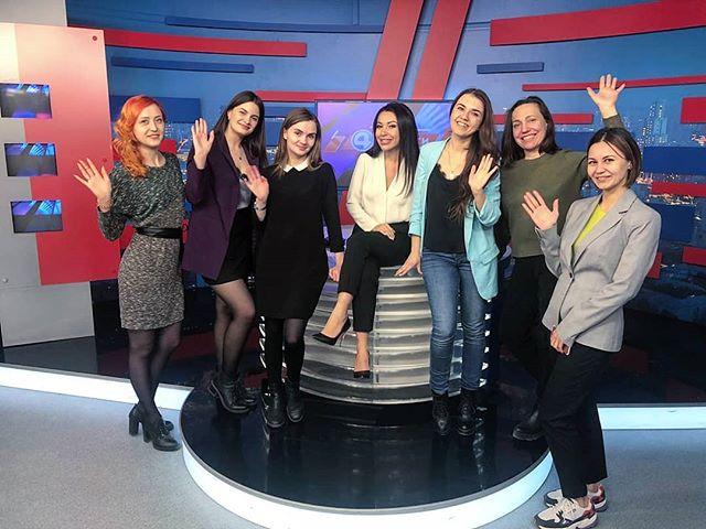"""Наши ученики курса телерадиоведущих """"Медиастарт"""" в Екатеринбурге побывали на экскурсии в телестудии 4 канала! Это отличная возможность не только  ..."""